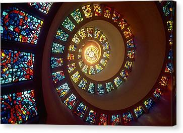 Stained Glass Canvas Print by Gianfranco Weiss
