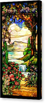Stained Glass Canvas Print by Kristin Elmquist