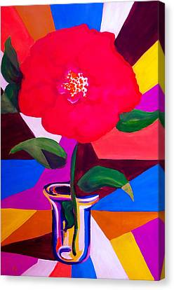 Stained Glass Canvas Print by Pete Maier