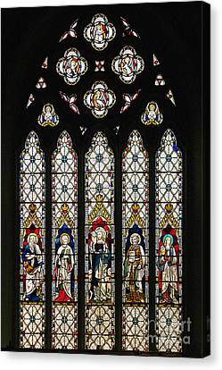 Stained-glass Window 1 Canvas Print by Susie Peek