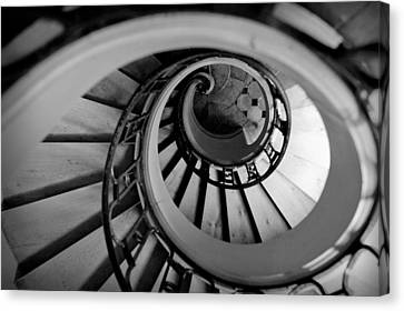 Staircase Canvas Print by Sebastian Musial