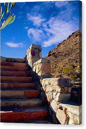 Stairway To Canvas Print by Glenn McCarthy Art and Photography