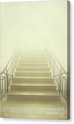 Stairway To Heaven Canvas Print by Evelina Kremsdorf
