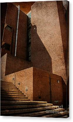 Stairway To Nowhere Canvas Print by Lois Bryan