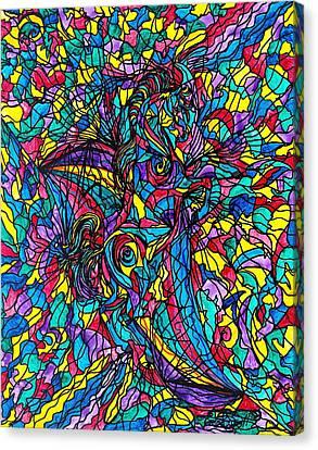 Stallion Canvas Print by Teal Eye  Print Store