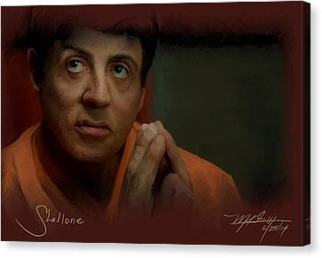 Stallone Canvas Print by Mark Gallegos