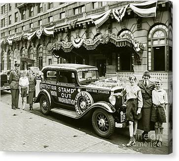 Stamp Out Prohibition Canvas Print by Jon Neidert