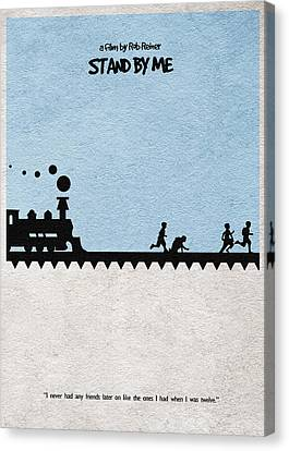 Stand By Me Canvas Print by Ayse Deniz