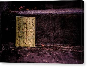 Stand Or Not Stand Canvas Print by Bob Orsillo