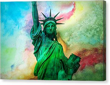 Stand Up For Your Dreams Canvas Print by Az Jackson
