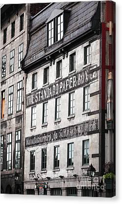 Standard Paper Canvas Print by John Rizzuto