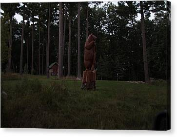 Standing Guard Canvas Print by Torkomian Photography