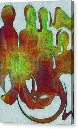 Standing Ovation 2 Canvas Print by Jack Zulli