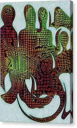 Standing Ovation 3 Canvas Print by Jack Zulli