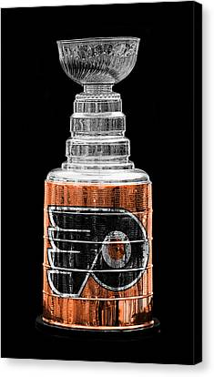 Stanley Cup 9 Canvas Print by Andrew Fare