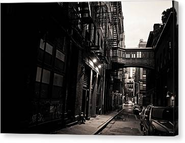 Staple Street - Tribeca - New York City Canvas Print by Vivienne Gucwa