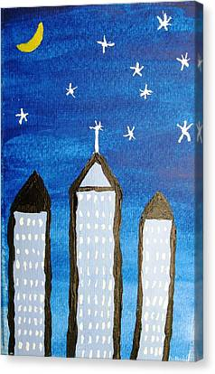 Star City Canvas Print by Will Boutin Photos