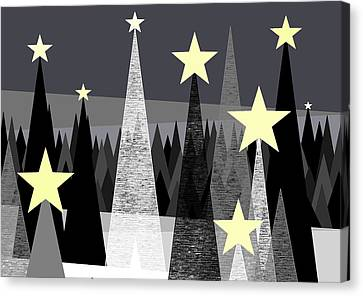 Star Light - Star Bright Canvas Print by Val Arie