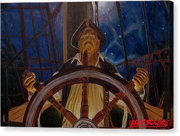 Star Pirates Canvas Print by John Paul Blanchette