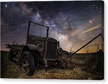 Stardust And  Rust Canvas Print by Aaron J Groen