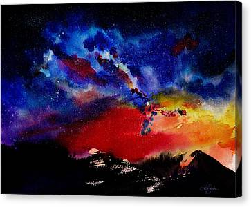 Starry Night Canvas Print by Isabel Salvador