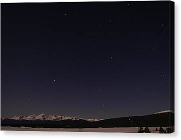 Stars Over Sawatch Canvas Print by Jeremy Rhoades