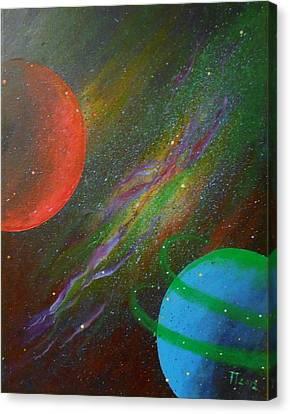 Stars Canvas Print by Tomislav Neely-Turkalj