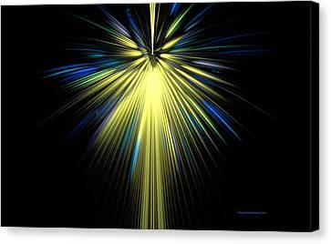 Starshine Canvas Print by Naomi Richmond