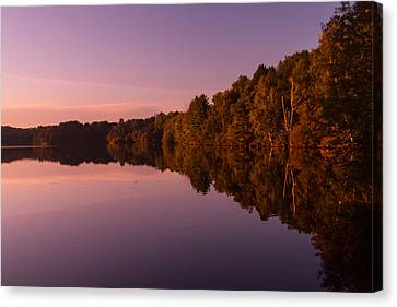 Starting Sunset Canvas Print by Torkomian Photography