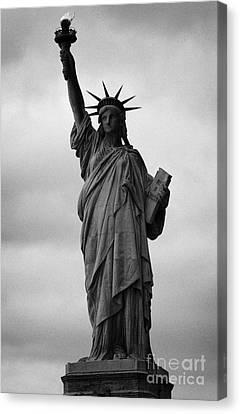 Statue Of Liberty National Monument Liberty Island New York City Nyc Usa Canvas Print by Joe Fox