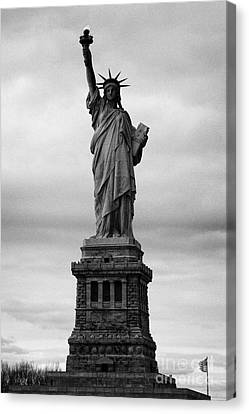 Statue Of Liberty National Monument Liberty Island New York City Usa Nyc Canvas Print by Joe Fox