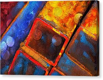 Stax Canvas Print by Skip Hunt