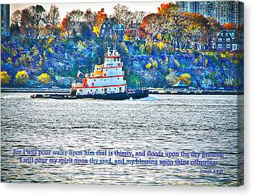 Stay Afloat With Hope Canvas Print by Terry Wallace