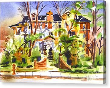 Ste Marys Of The Ozarks Hospital Canvas Print by Kip DeVore