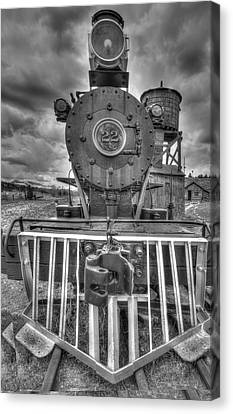 Steam Locomotive Train Canvas Print by Al Reiner