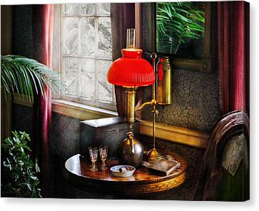 Steam Punk - Victorian Suite Canvas Print by Mike Savad