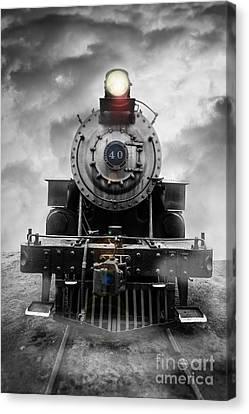Steam Train Dream Canvas Print by Edward Fielding