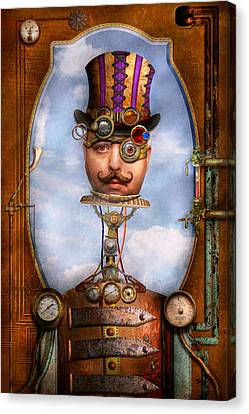 Steampunk - Integrated Canvas Print by Mike Savad