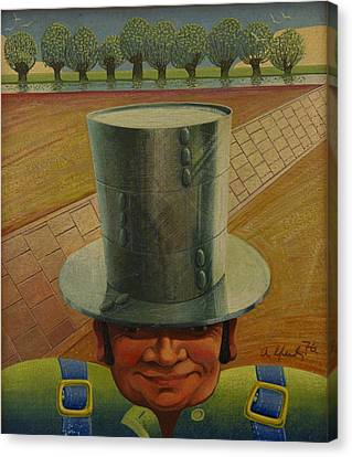 Steely Dan The Straightway Man Canvas Print by Arthur Glendinning