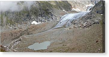 Stein Glacier, Switzerland Canvas Print by Science Photo Library