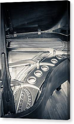 Steinway Canvas Print by Carrie Cole