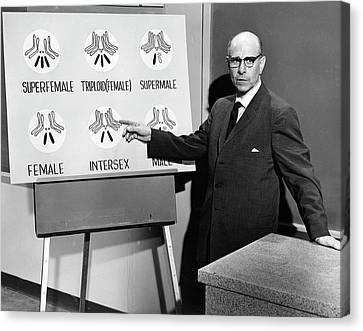 Stern Lectures On Intersex Genetics Canvas Print by American Philosophical Society
