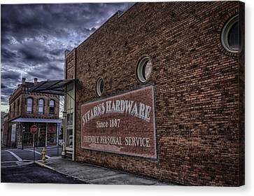 Stern's Hardware Canvas Print by Colby Drake