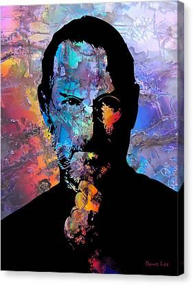 Steve Canvas Print by Dave Lee
