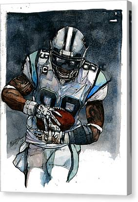 Steve Smith Canvas Print by Michael  Pattison