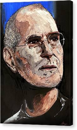 Steven Paul Jobs Canvas Print by Gordon Dean II