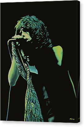 Steven Tyler 2 Canvas Print by Paul Meijering