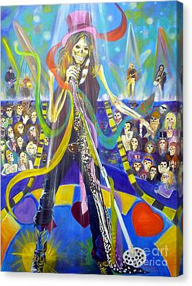Steven Tyler In 50 Years Canvas Print by To-Tam Gerwe