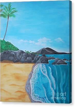 Steven Tyler In Hawaii Canvas Print by Jeepee Aero