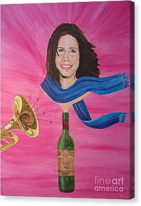 Steven Tyler Canvas Print by Jeepee Aero